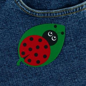 Ladybug Iron-On Patch